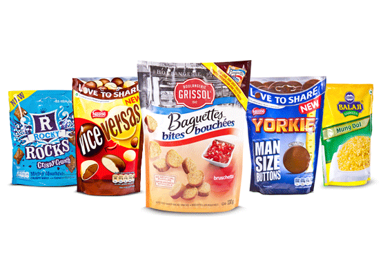 The best variations of doystyle standup pouches