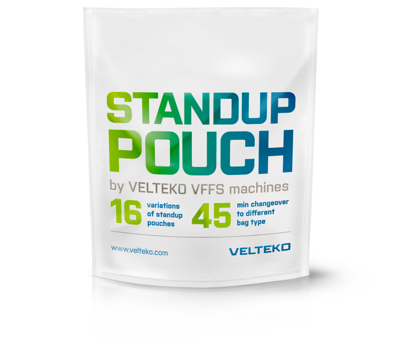 Variations of doypack standup pouches